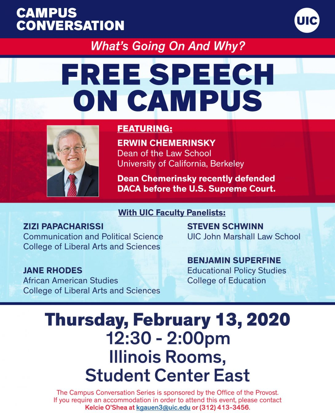 Campus Conversation Feb. 13, 2020: Free Speech on Campus