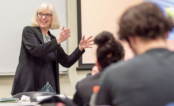 Marsha Cassidy, visiting lecturer in English